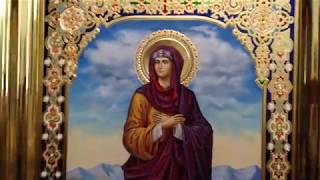 Сумская Икона Святая Праведная Елисавета Обзор Готовой Иконы Написанной в Иконописной Мастерской