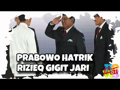 Jokowi Menang Telak, Prabowo Kalah Hatrik, Rizieq Gigit Jari