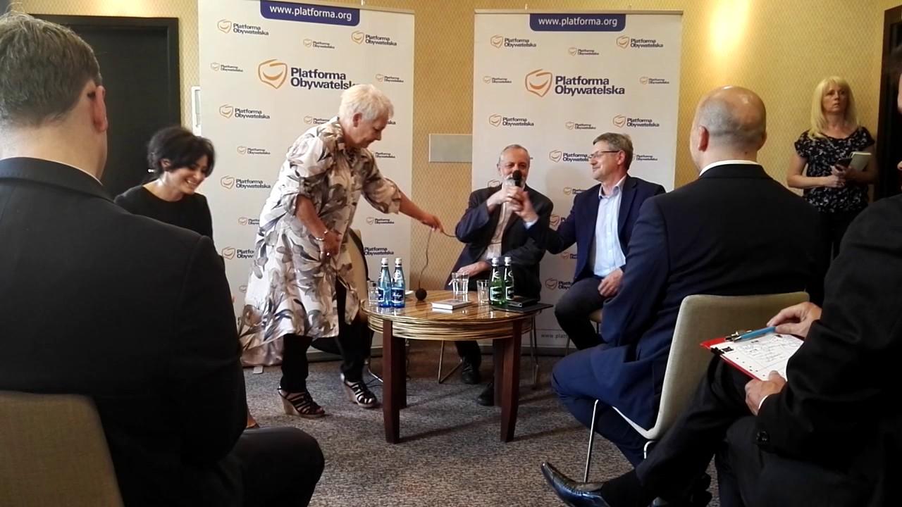 Spotkanie PO w Świdnicy