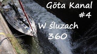 Göta Kanal #4 - w śluzach, film sferyczny, 360 stopni