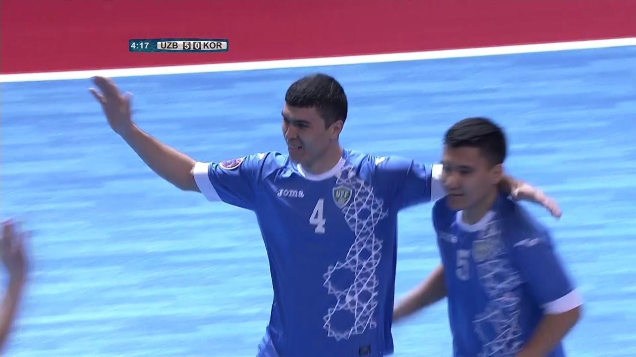 Video: Futsal Uzbekistan vs Futsal Hàn Quốc