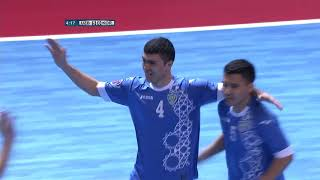Uzbekistan 13-2 Korea Republic (AFC Futsal Championship 2018: Group Stage)