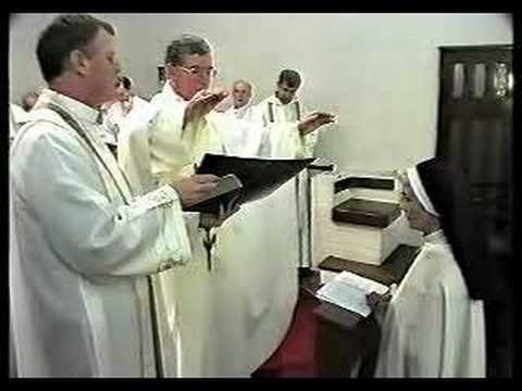 The profession of Sister Anne Ryan - Clip 2