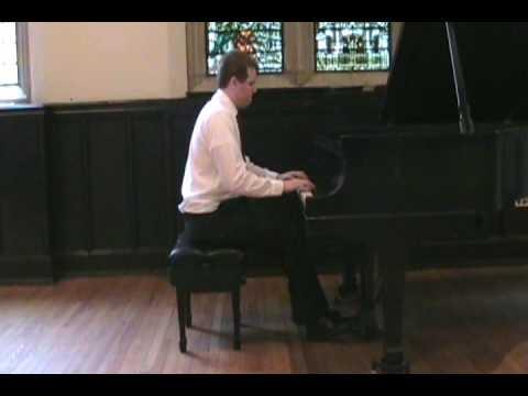 Billy Joel - Waltz #1 (Nunley's Carousel), Op. 2. Kieran Ridge -  Recital at BC (6 of 7)