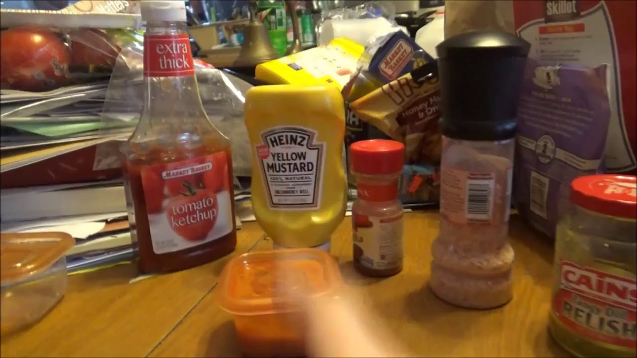 good burger how to make eds sauce youtube