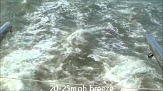 navigation & big catamaran sail training at tbyc southend on sea