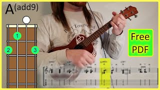 How to play Lemonade by Jeremy Passion UKULELE TUTORIAL [Chords + Tab]