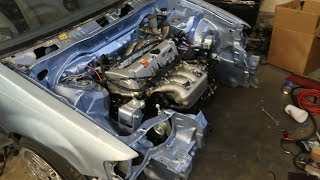 K AWD Civic Is Coming Along!