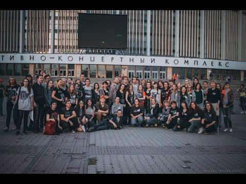 Flashmob in the memory of Chester Bennington in St Petersburg 31 07 17