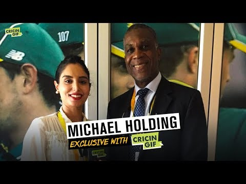 Michael Holding Exclusive with Cricingif
