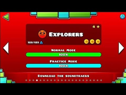 Explorers By TheMDK (me) [SWING COPTER REAL] Geometry Dash 2.2 + New Icon