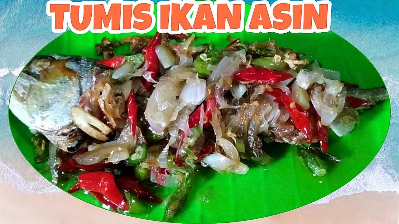 masak tumis ikan asin kembung mudah  enak youtube Resepi Masak Ikan Lumek Enak dan Mudah