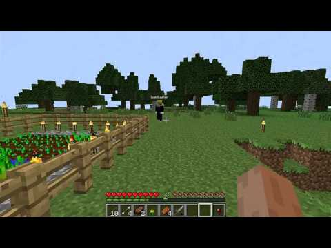 Minecraft-Road to Crafting Ep.7- I PUNCH GRASS