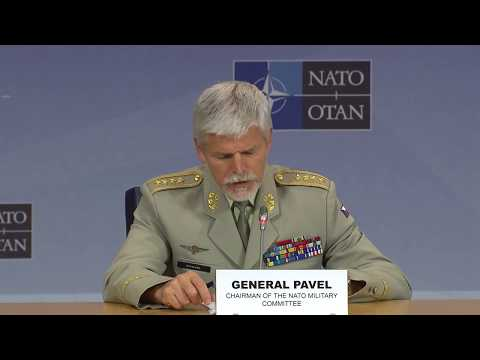 Opening remarks joint press conference - NATO Chiefs of Defence, 17 MAY 2017