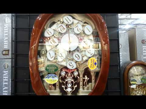 Fascinating Musical wall clocks by Rythm