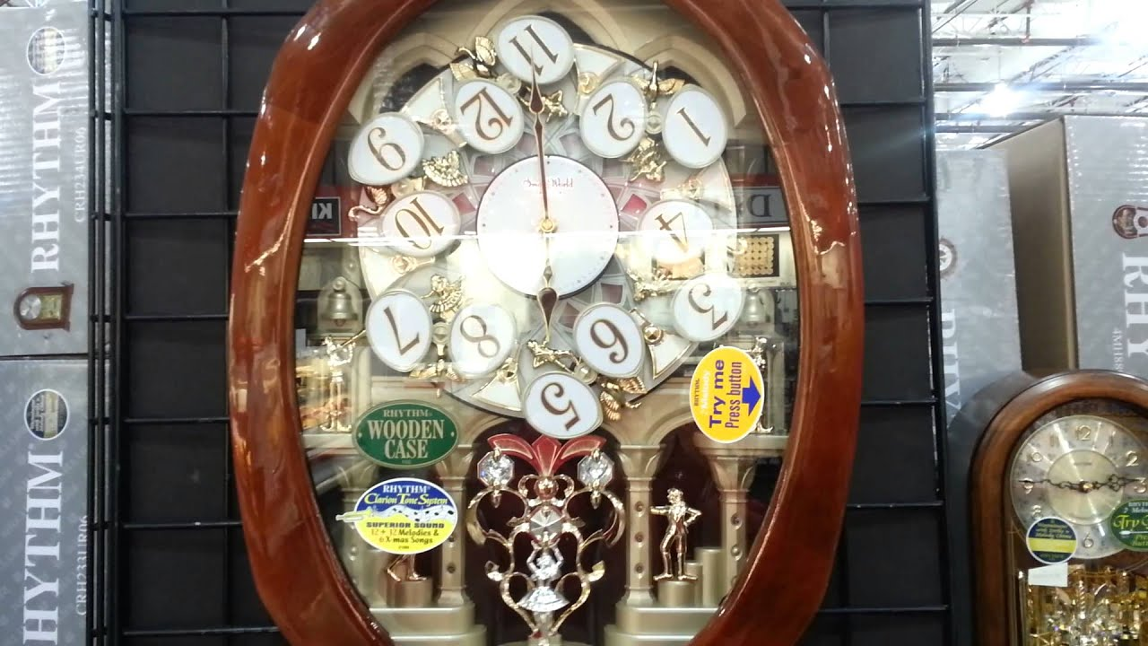 Fascinating Musical Wall Clocks By Rythm Youtube
