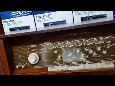 "The Freddy Vette Show on my 1963 LOEWE-OPTA ""OSLO"" Console Radio!"