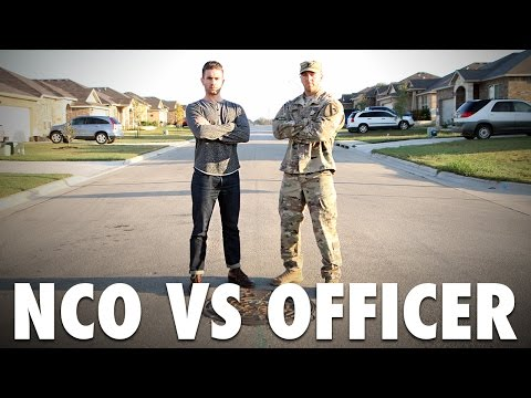 Military Q&A: Enlisted versus Officer with Nick Bare