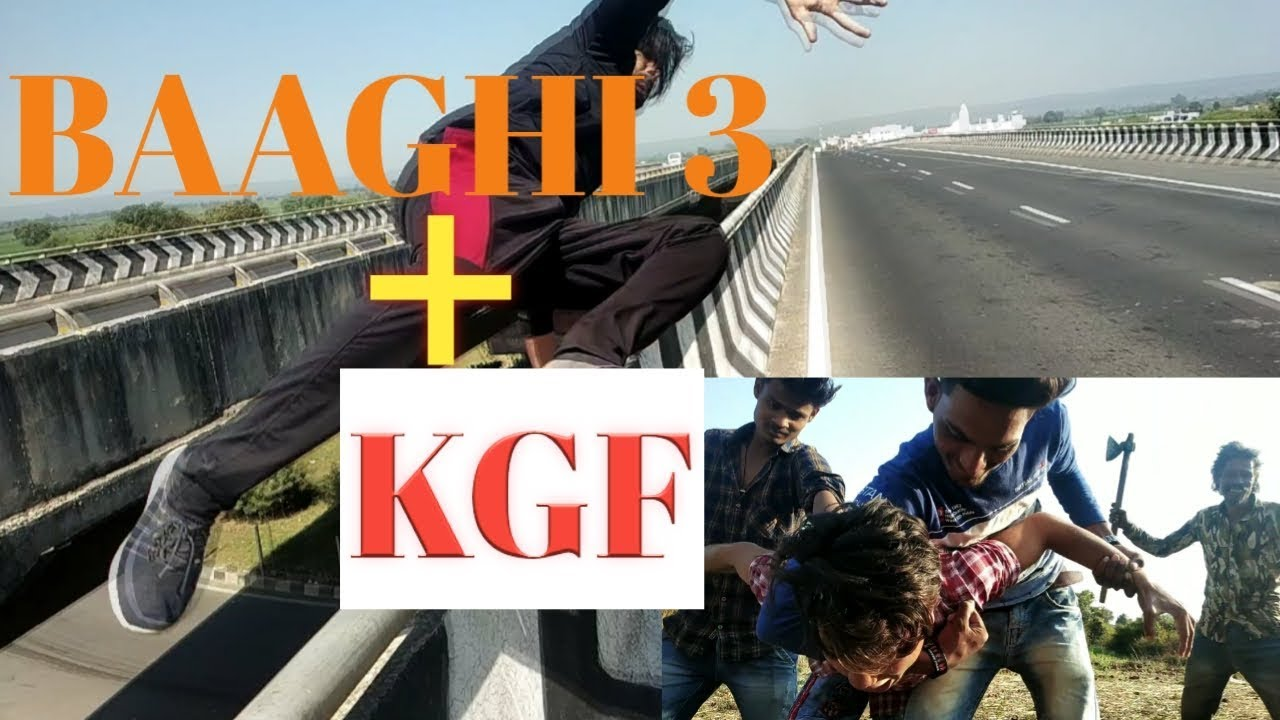 BAAGHI 3 + KGF combo action spoof || BAAGHI 3 movie spoof || KGF spoof