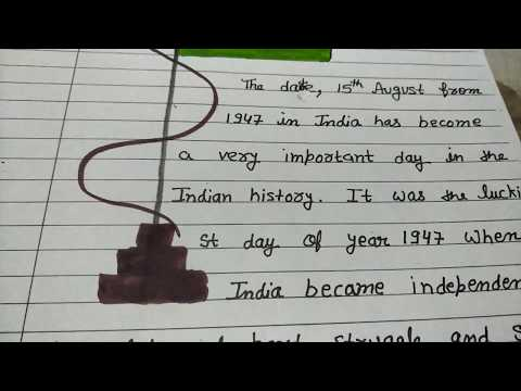 Short and small paragraph on Independence Day 15th August