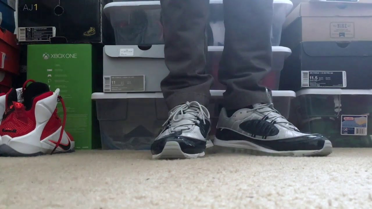fd05371ff87 Supreme X Nike Air Max 98 on feet (Blue) - YouTube