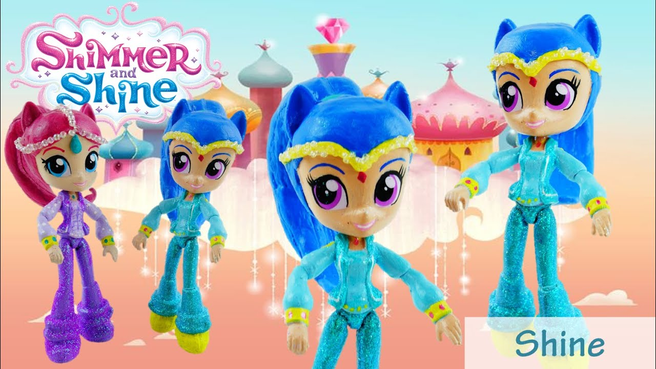 SHINE Custom Doll - How to make Shimmer and Shine Toys from MLP Equestria  Girls by Evies Toy House