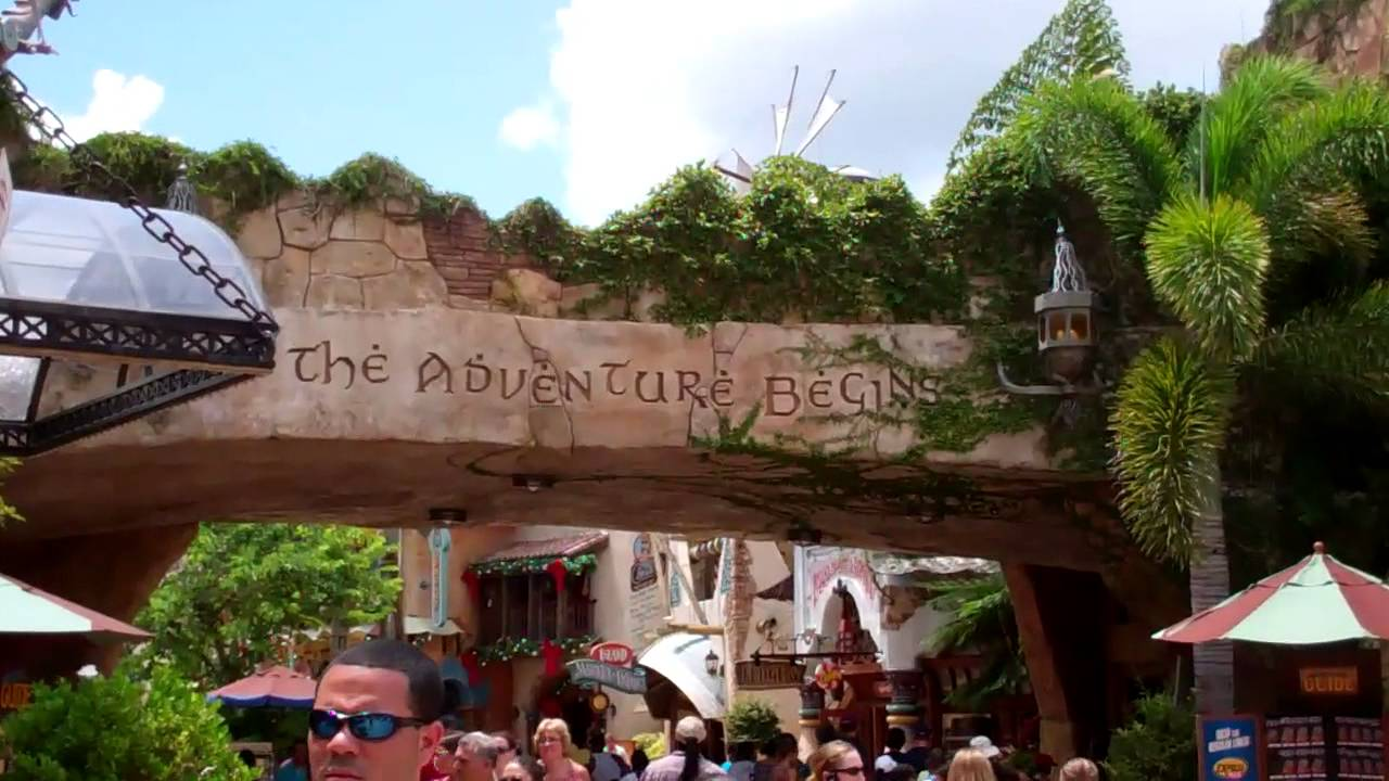 Entry Orlando Port Of Entry at Islands Of Adventure! Universal Orlando Resort 2011 HD