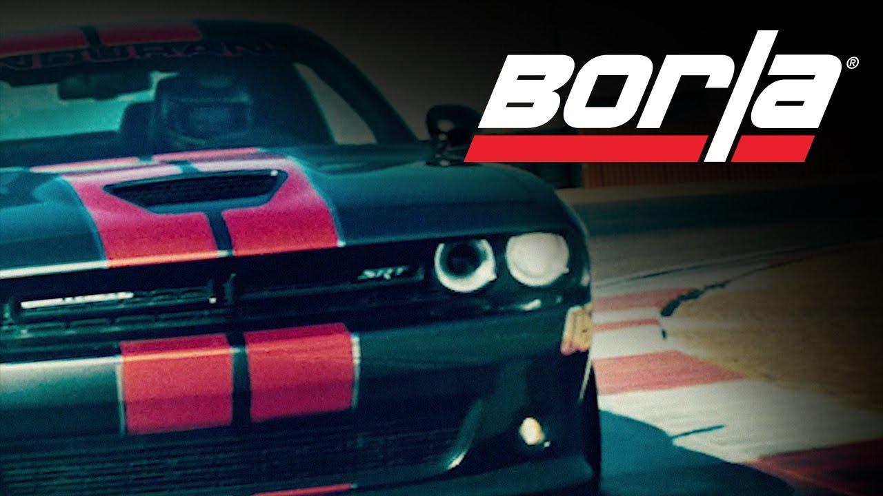Challenger Scat Pack >> Borla Exhaust for 2015-2019 Dodge Challenger SRT 392 - YouTube