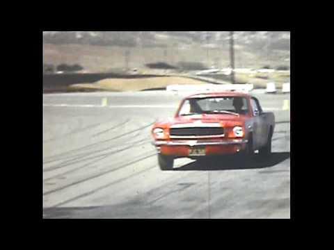 SLALOM  RACING 1967 RIVERSIDE RACEWAY WITH MUSTANG CLUB