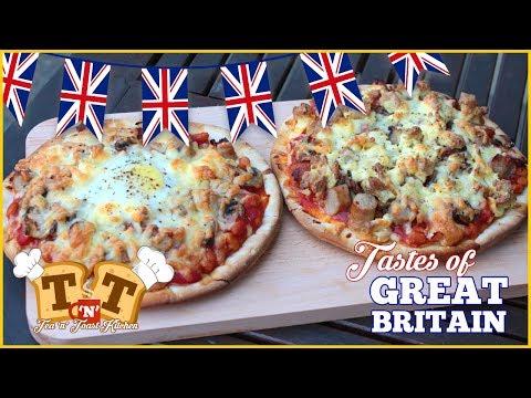 The Full English Breakfast Pizza - Tastes Of Great Britain
