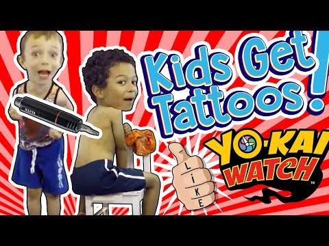 kids-give-each-other-tattoos!-total-fail!-yo-kai-watch-✳-tottychocho