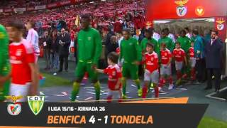 Benfica 4-1 Tondela