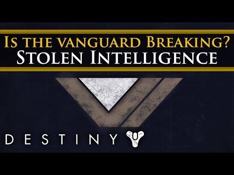 Destiny 2 Lore - The Vanguard is fracturing. Stolen Intelligence! Zavala & Ikora Romance?