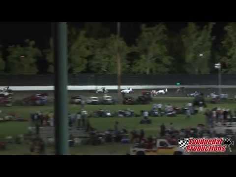 Calistoga Speedway 8-30-14 :: USAC/CRA Sprint Cars