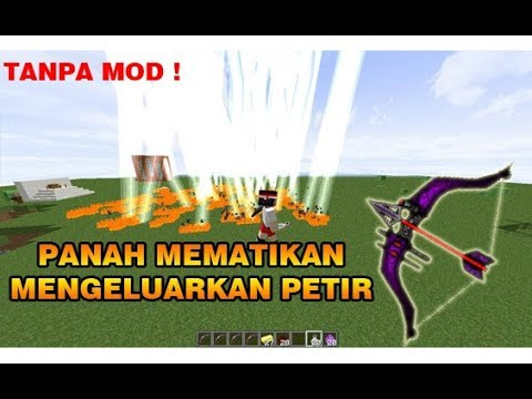 CARA BUAT PANAH PALING MEMATIKAN DI MINECRAFT !! - MINECRAFT INDONESIA !!