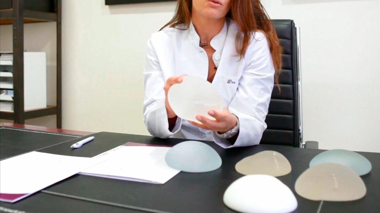 tipos de protesis pecho