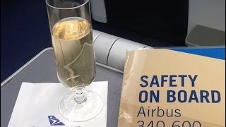 Business Class on South African Airways, Frankfurt to Johannesburg