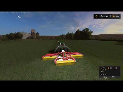 FS17 Chellington Timelaspe Ep5 Cutting grass and planting