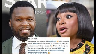 Fans HEATED w/Naturi Naughton after she wishes #50Cent Happy Bday + Assumingly Forgives Him