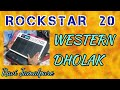 Rockstar  20  Octapad  DHOLAK WESTERN PATCH