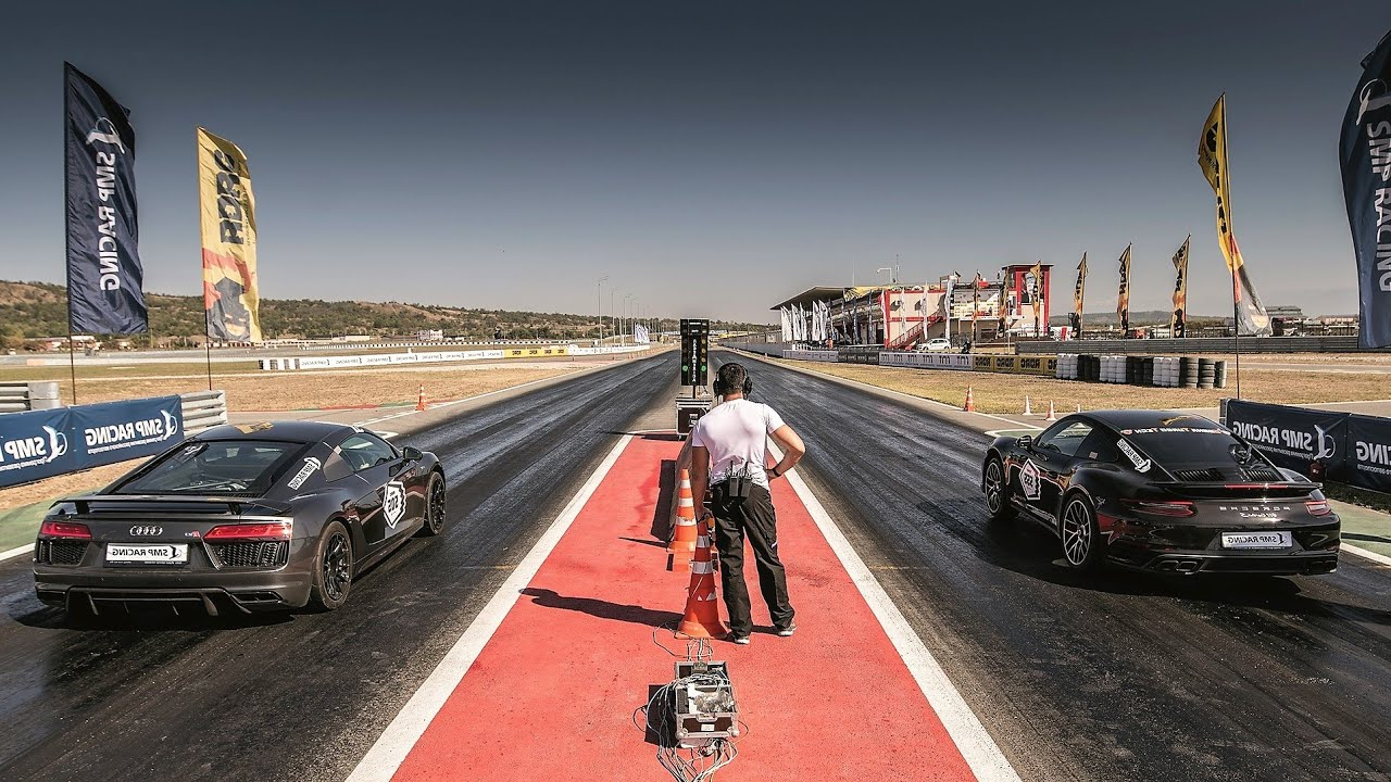 Car drag main pride race strip track