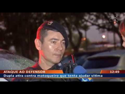 DF ALERTA - Dupla armada faz várias vítimas em arrastão no DF