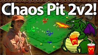Chaos Pit 2v2! Feat. The Fat Dragon, Yo, DauT, and TaToH!