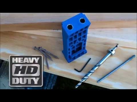 Kreg Jig HD Heavy Duty Pocket Hole System