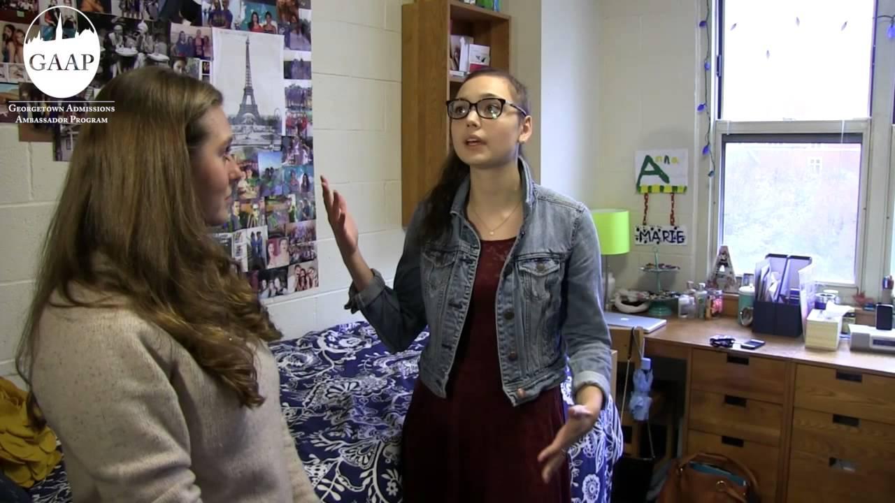 Georgetown Freshmen Residence Halls Tour   YouTube Part 38