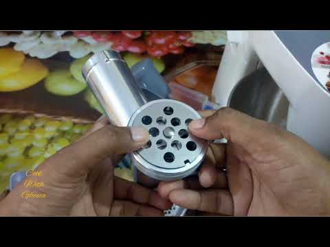 KENWOOD multione Mincer Complete Review With Attachments In Urdu