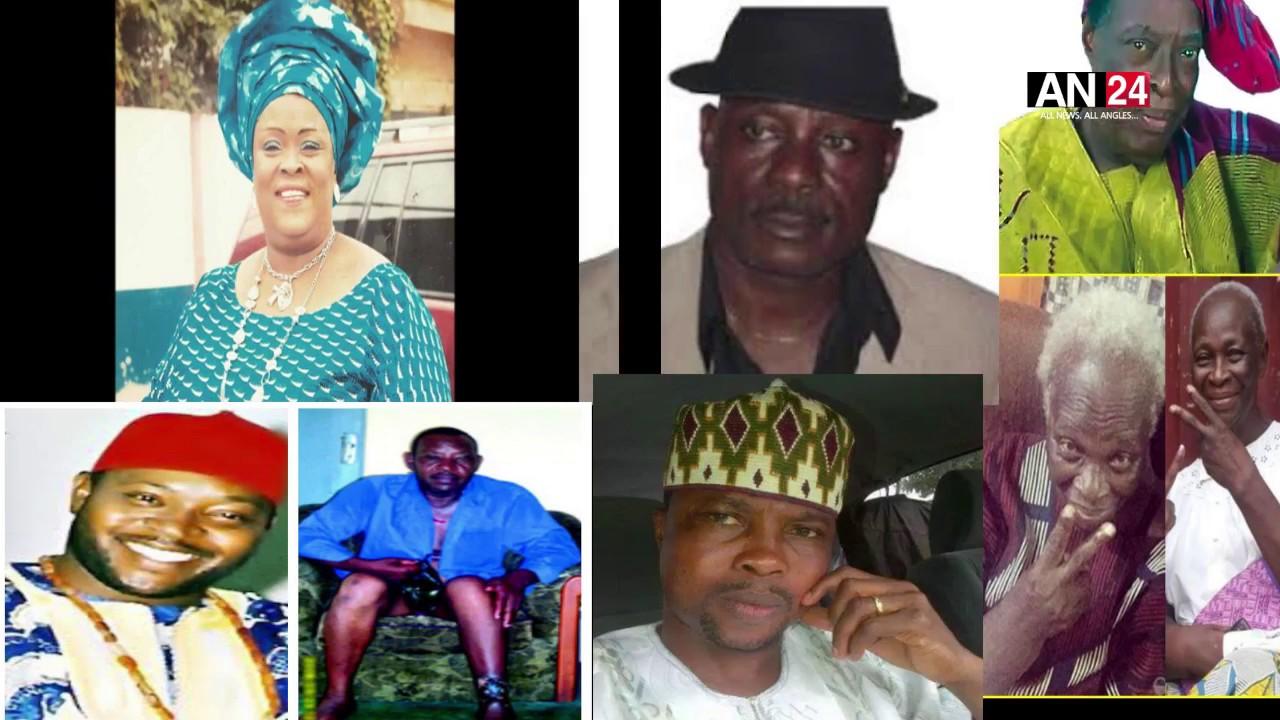 Nollywood Actors That Passed Away Between 2016-2017