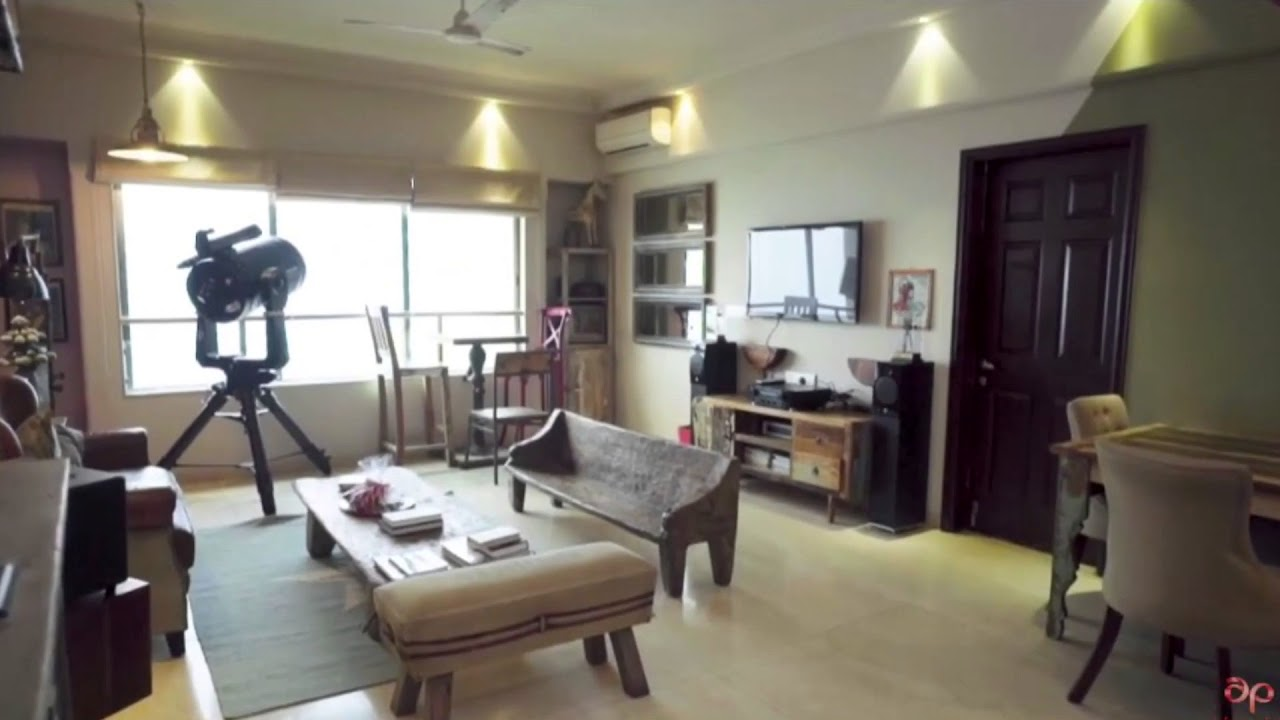 Sushant Singh Rajput flat interior - YouTube