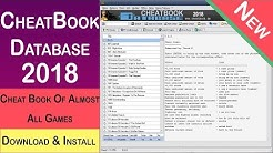 How to Download CheatBook Database 2018 | All PC Games CheatBook Download Free