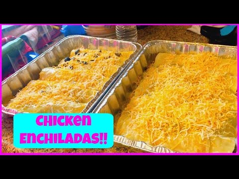 How to Make Chicken Enchiladas Recipe